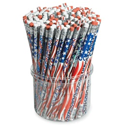 Pencil Tub- Patriotic
