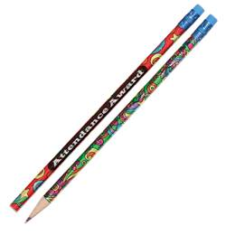 Attendance Pencil - Psychedelic