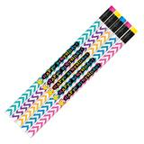 Birthday Pencil - Chevron Happy Birthday