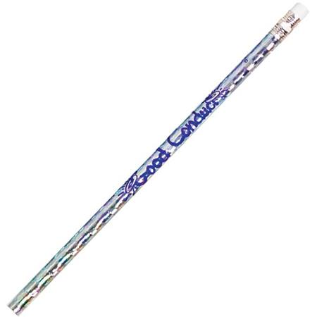 Character Pencil - Good Conduct Silver Sparkle