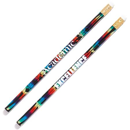 Honor Roll Pencil - Academic Excellence Rainbow