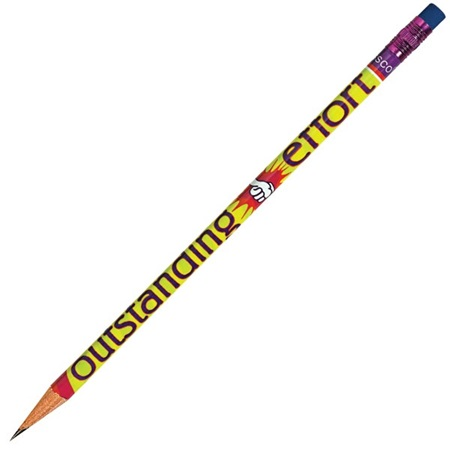 Honor Roll Pencil - Outstanding Effort Thumbs Up
