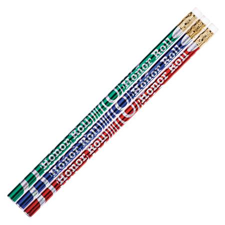 Honor Roll Pencil - Wave Glitz