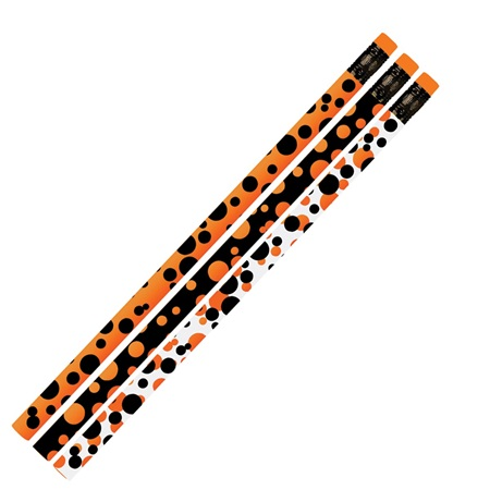 Halloween Pencil - Halloween Dots