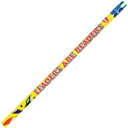 Leaders Are Readers Pencil