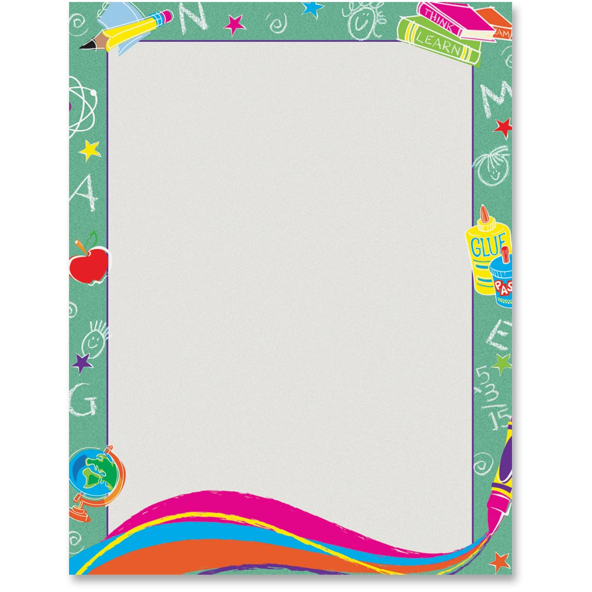 picture about Printable Border Paper named Clroom Corner Border Printable Paper Andersons