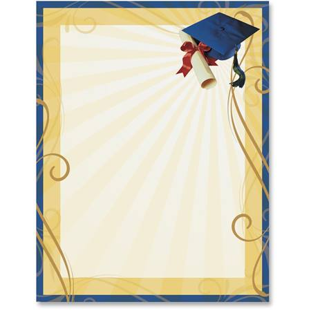 Graduation Cap Printable Papers