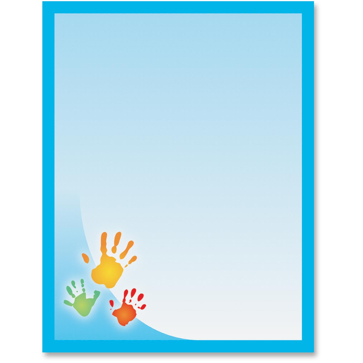 photograph relating to Printable Handprints titled Handprints Printable Papers Andersons