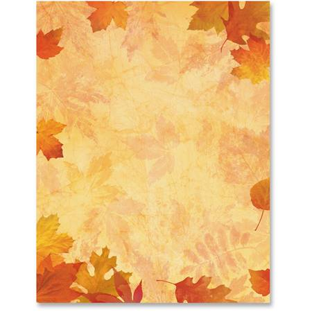 Impressions of Fall Printable Paper