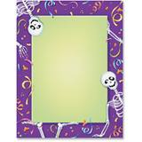 Skelly-tons Border Printable Paper