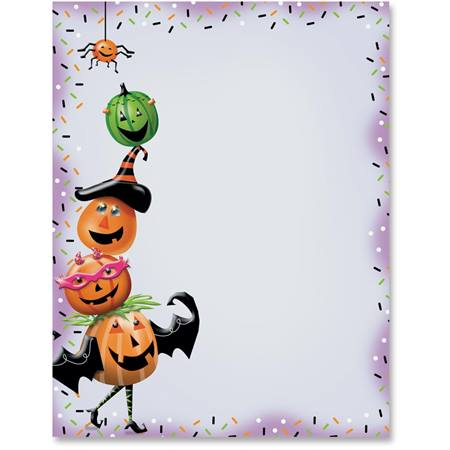 Pumpkin Party Printable Paper