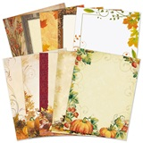 Fall Season Printable Paper Variety Pack
