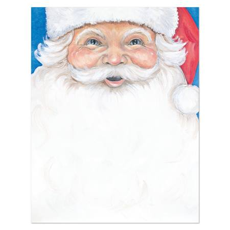 Jolly Old Saint Nicholas Printable Paper