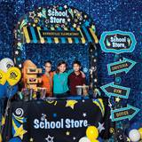 Stars School Store Scene - Personalized