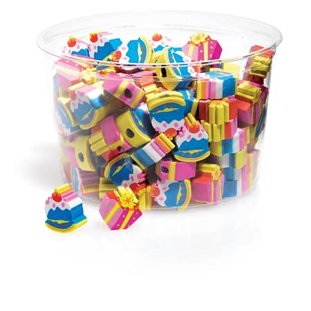 Birthday Surprise Pencil Toppers, 144/pkg