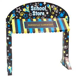 School Store Table Awning Kit - Stars
