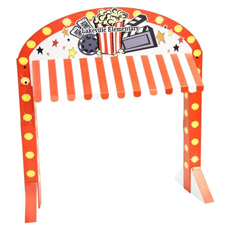 Movie Night Table Awning Kit - Personalized