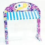 Table Awning Kit - Colorful Stars