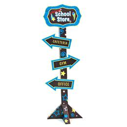 Stars School Store Sign Kit - Personalized