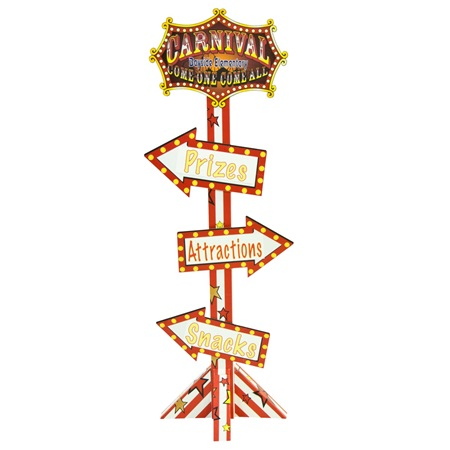 Carnival Sign Kit - Personalized