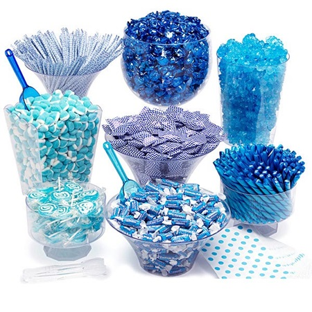 Candy Buffet Kit - Blue