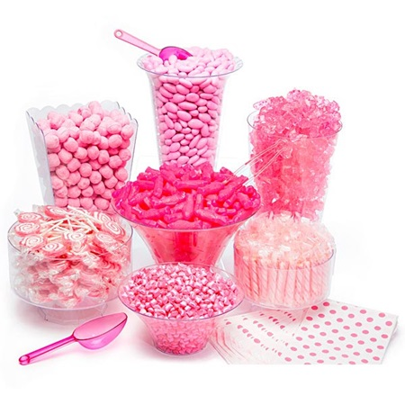 Candy Buffet Kit - Pink