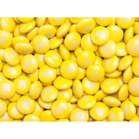 Yellow M&M's® Milk Chocolate Candy - 2 lbs.