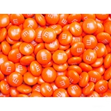 Orange M&M's® Milk Chocolate Candy - 2 lbs.