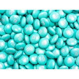 Aqua M&M's® Milk Chocolate Candy - 2 lbs.