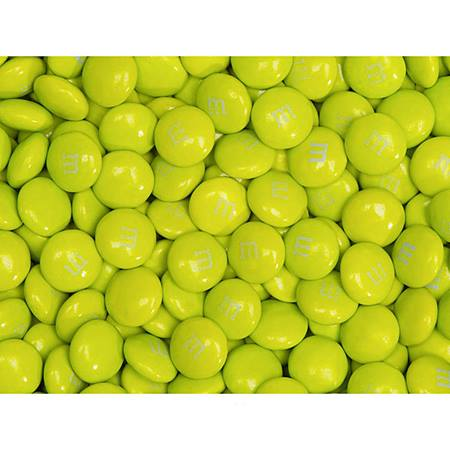 Electric Green M&M's® Milk Chocolate Candy - 2 lbs.