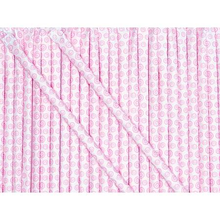 Candy Powder-Filled Straws - Strawberry