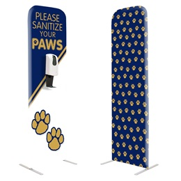 Floor Hand Sanitizing Station - Sanitize Your Paws