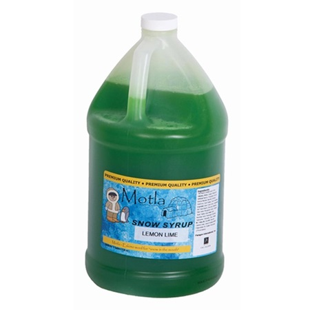 Lemon-Lime Sno Cone Syrup - Gallon