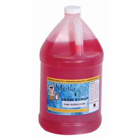 Pink Bubble Gum Sno Cone Syrup - Gallon