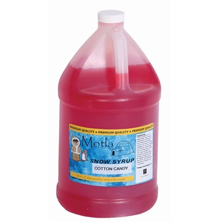 Cotton Candy Flavored Sno Cone Syrup - Gallon