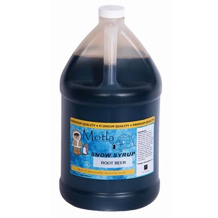 Root Beer Sno Cone Syrup - Gallon