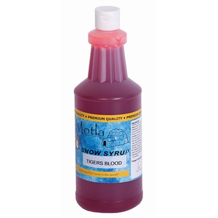 Tiger's Blood Sno Cone Syrup - Quart