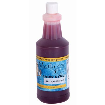 Red Raspberry Sno Cone Syrup - Quart