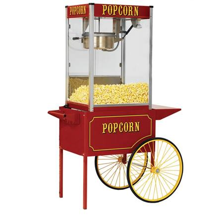 Popcorn Cart for 8 oz. Popcorn Machine