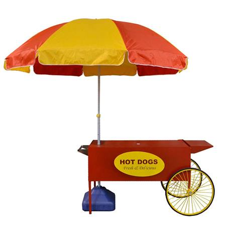 Large Hot Dog Cart