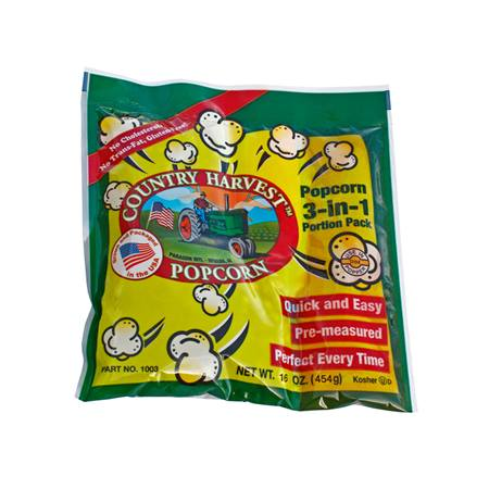 Country Harvest 12 oz Popcorn Pack - 24 Packs