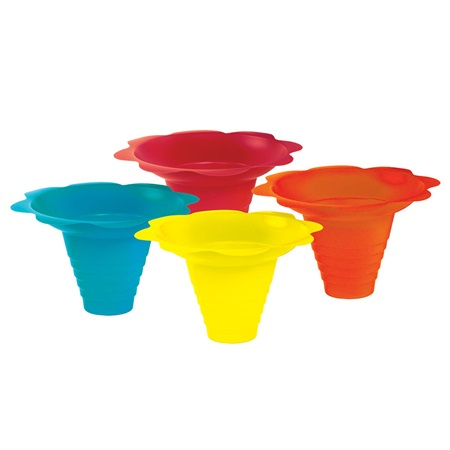 Flower Drip Sno Cone Tray Cups (8 oz)