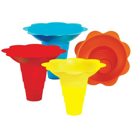 Flower Drip Sno Cone Tray Cups (12 oz)