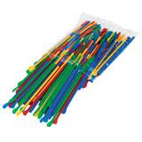 Sno Cone Spoon Straws multicolor pack