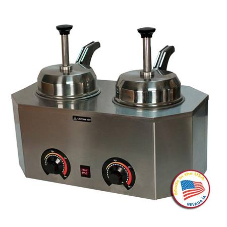 Dual ProDeluxe Warmer with Back Pumps