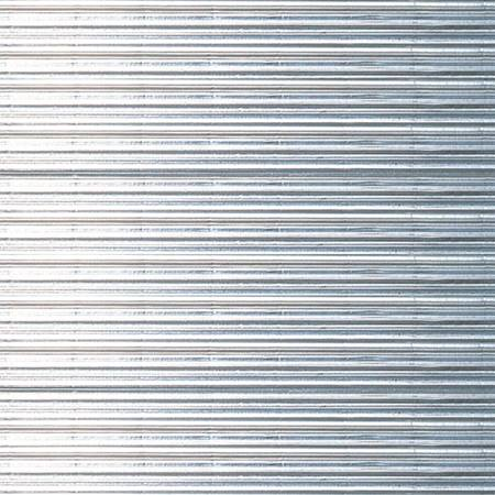Corrugated Decorating Paper - Metallic Silver