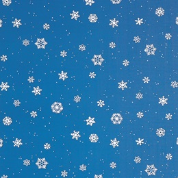 Corrugated Decorating Paper - Winter Flakes