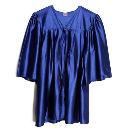 Shiny Graduation Gown