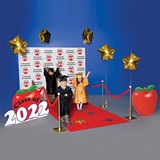 Kindergarten Apple Walk of Fame Theme