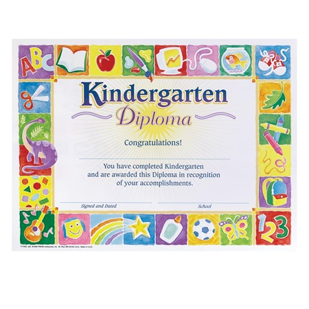 Kindergarten Diploma - School Design